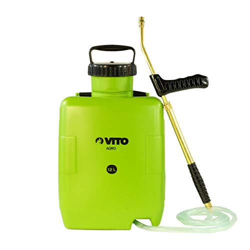 VITO 12L Backpack Sprayer - Aggressive and Corrosive Products - Garden Veggies, Roofs