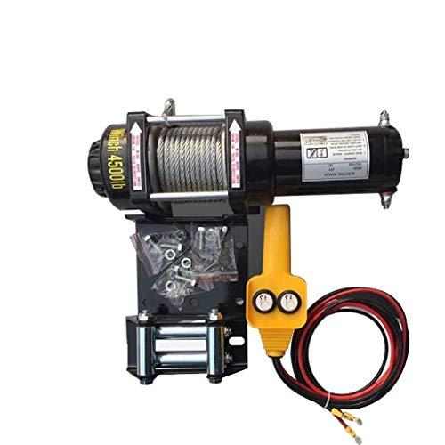 LIQIANG Cabrestante eléctrico para remolcador ATV/UTV, Remolque, cabrestante eléctrico Todoterreno