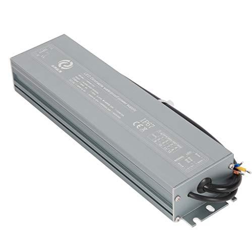 YAYZA! Impermeable Compacto IP67 12V 8.33A 100W Regulable Transformador de Bajo Voltaje Fuente Alimentación Conmutación de CA/CC Adaptador Módulo PSU Admite 2 en 1 Control de Atenuación TRIAC y 0-10V