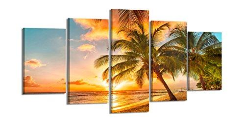 Visario 200 x 100 cm ! Quadro su Tela Playa Modell Nr 6334