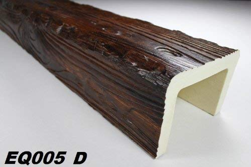 2 Meter | Balken | PU | Holzoptik | Deco Wood | 190x130mm | EQ005.D