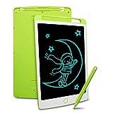 Richgv Tabletas gráficas para niños, Tableta de Escritura LCD de 8,5 Pulgadas, Pizarras magneticas Infantiles, Regalo para niños, Adultos, Oficina (Verde)