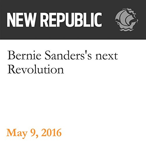 Bernie Sanders's next Revolution audiobook cover art