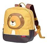 SIGIKID 25116 Rucksack Löwe Forest Bags Mädchen und Jungen Kinderrucksack empfohlen ab 2 Jahren gelb
