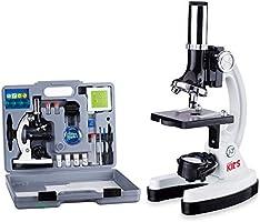 Save 38% on AmScope 52-piece kids beginner microscope STEM kit