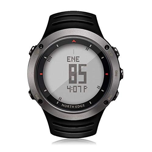 ZYL-YL Smart Outdoor Sportuhr Mode Uhr Schritt Laufuhr (Color : Silver Grey)