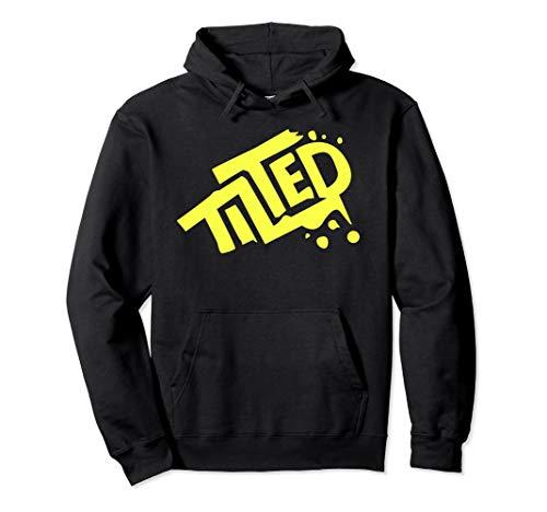 Fortnite Tilted Hoodie (Yellow Logo)