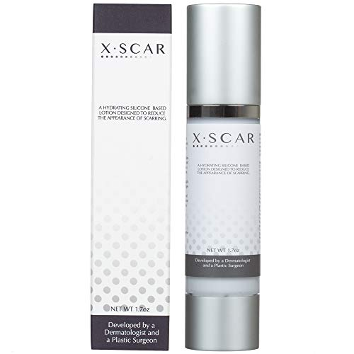 XScar Silicone Facial Scar Cream with Vitamin E | Developed by a Dermatologist and a Plastic Surgeon | Safe to use on all ages