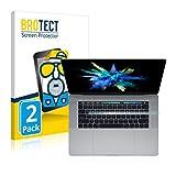 brotect Pellicola Protettiva Opaca Compatibile con Apple MacBook PRO 15' 2017 (Solo Touch Bar) Pellicola Protettiva Anti-Riflesso (2 Pezzi)