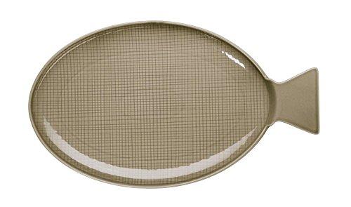 ASA Fischplatte, Porzellan, Tonca, 37 x 18 x 2 cm