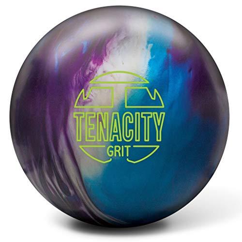 Brunswick Tenacity Körnung, Unisex-Erwachsene, Tenacity Grit Bowling Ball Blue/Purple/Silver, Blue/Purple/Silver, 13