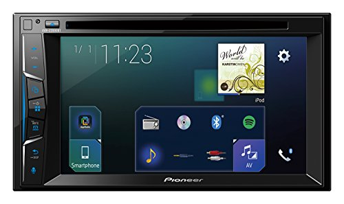 Pioneer AVH-Z2000BT 2DIN Autoradio | 6,2 Zoll Clear-Type-Touchscreen | Bluetooth | CarPlay | Waze | Navigation | AppRadio | Freisprecheinrichtung | Media-Receiver für Audio Video CD DVD USB