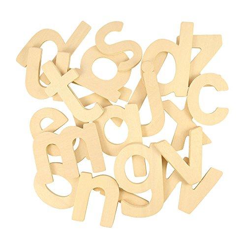 Bigjigs Toys Kleinbuchstaben-ABC Schablonen zum Zeichnen
