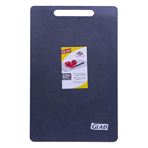 Glad Extra Large Kitchen Cutting Chopping Board | Dishwasher Safe | Non Porous, Easy to Clean, Gentle on Knives | 16.25