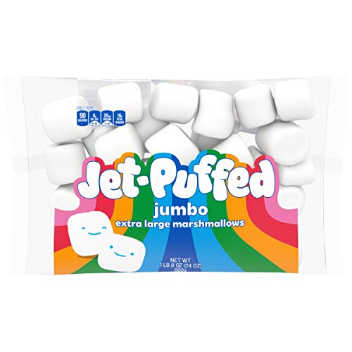 Jet-Puffed Jumbo Mallows Marshmallows Extra Large (24 oz Bag)