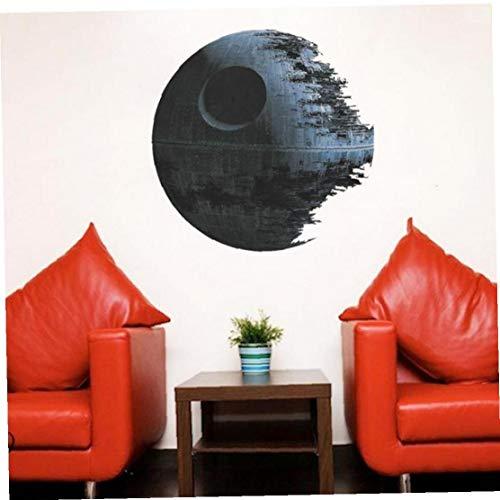 Películas de Star Wars Estrella de la Muerte Arte de la Pared Las Etiquetas engomadas de la decoración del hogar extraíble Nursery niños Decal Sticker Aviva
