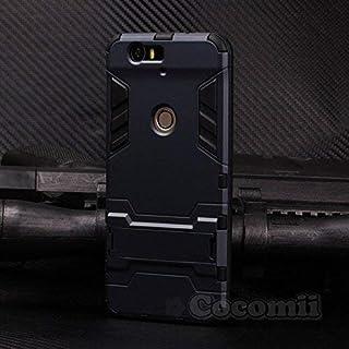 Cocomii Iron Man Armor Huawei Nexus 6P Funda [Robusto] Superior Táctico Sujeción Soporte Antichoque Caja [Militar Defensor] Cuerpo Completo Sólido Case Carcasa for Huawei Nexus 6P (I.Black)