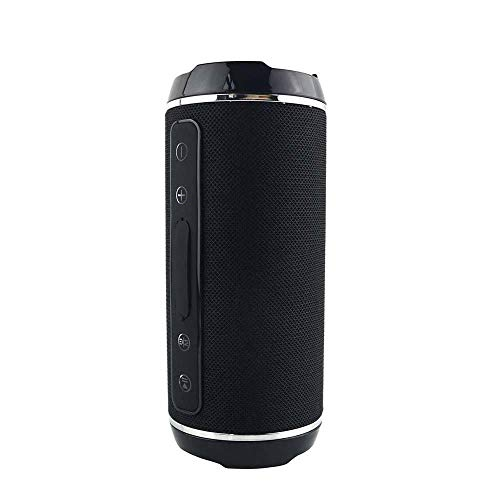 N/A Altavoz Bluetooth inalámbrico de Alta Potencia de 40W estéreo Impermeable Bass USB/TF/AUX MP3 portátil al Aire Libre Columna Reproductor de música Subwoofer (Color : E)