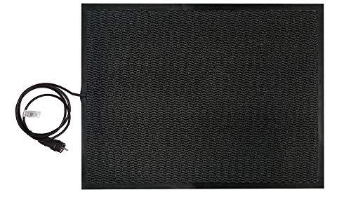 INROT Heiz Systeme 70125 Teppichheizung INROT wasserdichte Teppichheizmatte 60x80cm, 140 Watt, grau