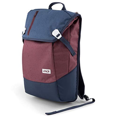 AEVOR Daypack - erweiterbarer Rucksack, ergonomisch, Laptopfach, wasserabweisend, Bichrome Iris