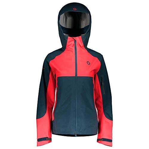 Veste de snowboard pour femme Scott Explorair 3L XS nightfall blue/melon red