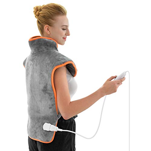 XXL Heating Pads for Back Pain 23.6'x33.5' ATMOKO Electric Heat Pad for Shoulder Back...