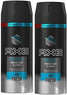 اسپری بدن ضد آفتاب مردانه 2 Pack Axe Chill ، 150 میلی لیتر (5.07 اونس)