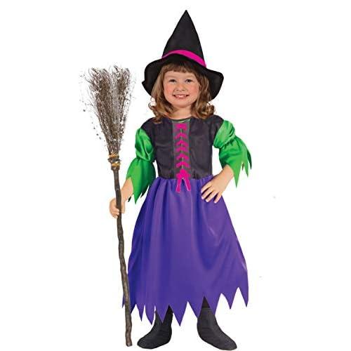 Ciao-Costume bambina Streghella, 3-4 anni, Multicolore, 61319.3-4.DS