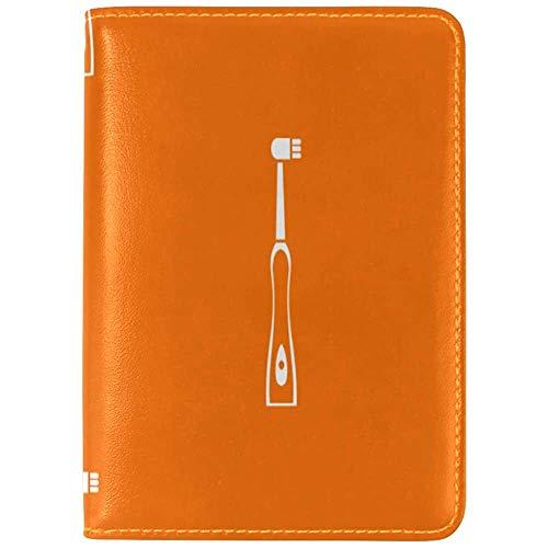 Passport Cover Case Elektrische automatische Zahnbürste Niedlicher Passhalter