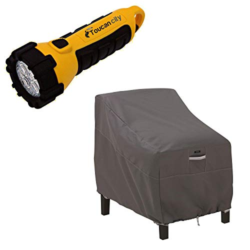 Toucan City LED Flashlight and Classic Accessories Ravenna Deep Lounge Chair Cover 55-422-015101-EC