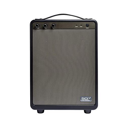 SACKit BOOMit - Altavoz portátil, Bluetooth, también se Puede Utilizar como batería Externa, Color Negro