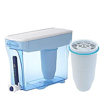 ZeroWater 30 Cup Water Filter Ready-Pour Dispenser with 2 Replacement Filter and Free Water Quality Meter ZD-030RP