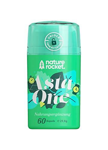 Suplemento antioxidante natural - Astaxantina (4 mg) - Extracto de microalga (88 mg) y vitaminas C y E - 60 cápsulas