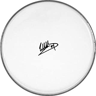 Eddie Van Halen Facsimile Signature Clear 12 Inch Drumhead