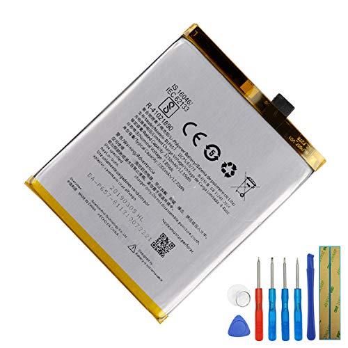 E-yiiviil - Batería de repuesto BLP657 para móvil, compatible con OnePlus 6 A6003 OnePlus 6 Dual SIM Global, con herramientas (no apto para Oneplus6T)
