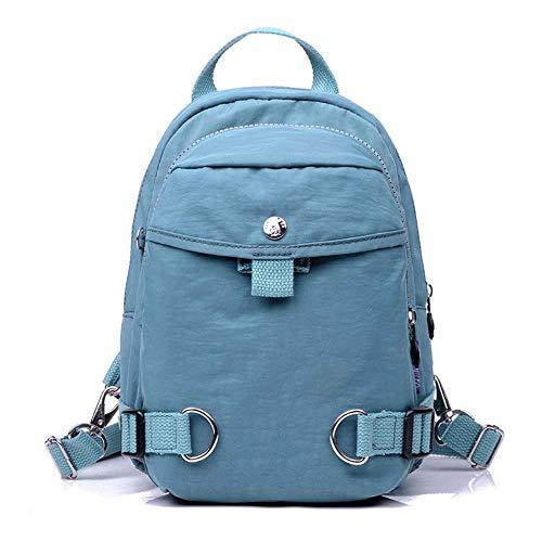 SAMJGF Leisure Backpack Multifunctional Casual Waterproof Nylon Cloth Bag Outdoor Travel Bag Fashion...