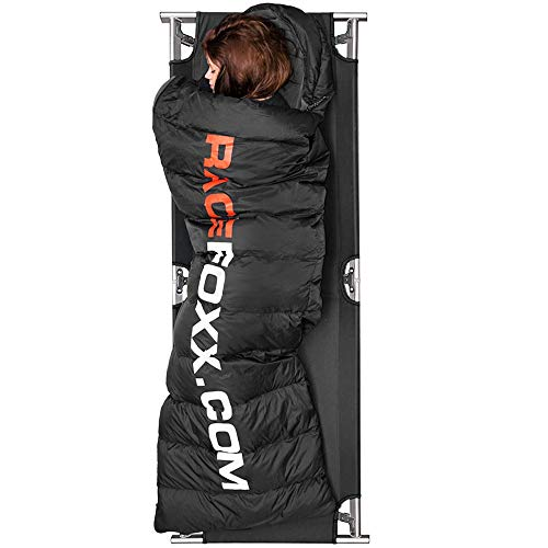 RACEFOXX Veldbed, outdoorbed, opklapbed, logeerbed, campingbed, ligbed, bed