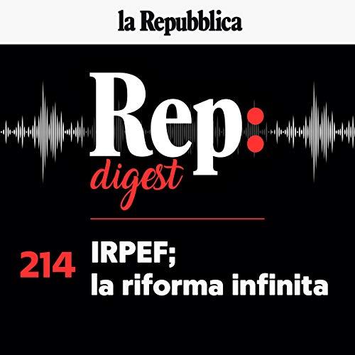 Couverture de Irpef la riforma infinita