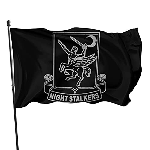 Yilimi Hui Us Army Retro 160th Special Operations Aviation Regiment Double Sided Printing 3x5 Foot Flags Outdoor Double Sided 3x5 Ft Flags Best Military Flag is Not Damaged Durable