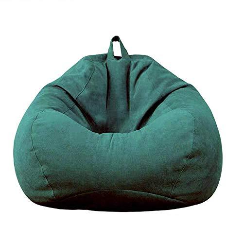 Bean Bag Chair,Ultra Soft Sofa Sack Floor Chairs,Memory Foam Bean Bag Chair Cover Stuffed Foam Filled Furniture Rest Seat Chairs,A