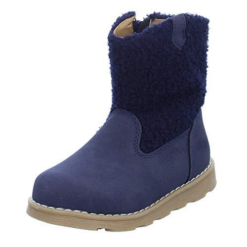 ESPRIT Kinder Stiefel 089EKKW005 Mädchen Winterstiefel mit Reißverschluss Blau (400 Navy) Größe 33 EU