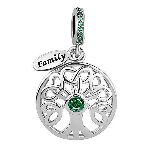 Cherris Jewellery - Ciondolo a forma di albero della vita e NA, cod. NA