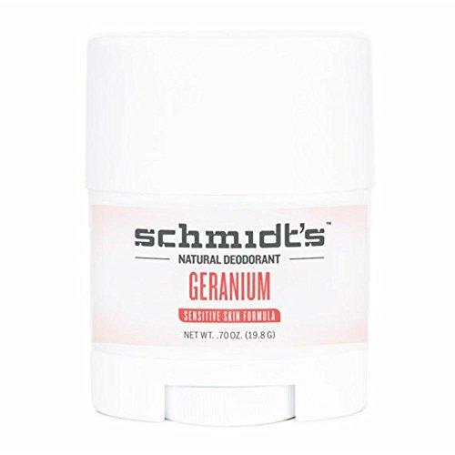 Déodorant naturel de voyage en stick Géranium - Peau sensible