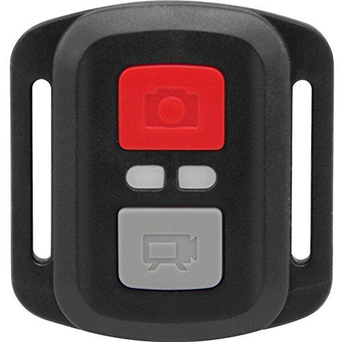 SUNERLORY Control Remoto inalámbrico 2.4G para cámara de acción Deportiva, cámara Deportiva Impermeable ABS, Control Remoto de videocámara Ultra HD, diseño Creativo fácil de Llevar