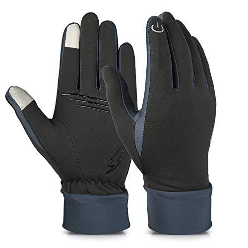 Small-shop Winter Gloves Gants d'hiver Professionnels avec écran Tactile réfléchissants pour Garder au Chaud, Homme, Gris, X-Large