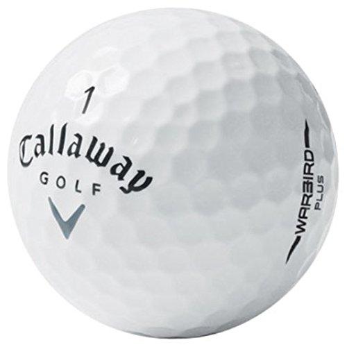 Callaway Warbird Plus AAA Used Golf Balls, 50-Pack