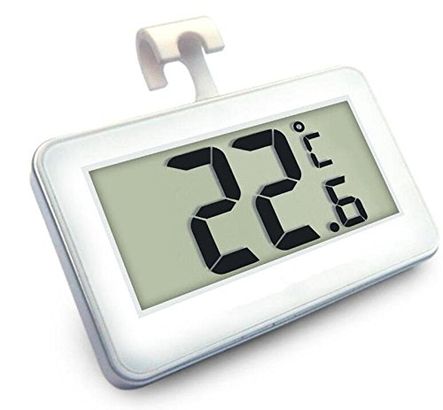 Fridge Freezer LCD Digital Thermometer with Hook
