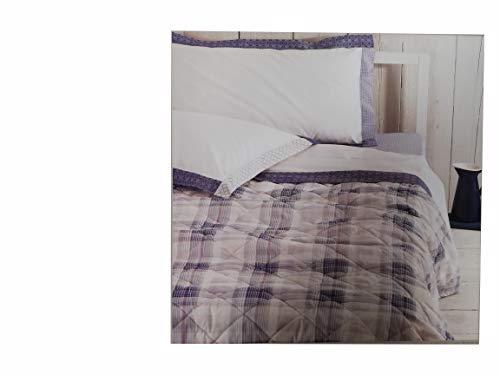 Zucchi Tagesdecke für Frühling, Baumwolle, Joseph für französisches Bett, 1/2-220 x 260 cm, Blau