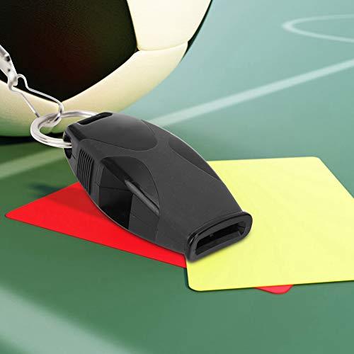 AMONIDA Fischietto da Competizione, Materiale Sportivo con Suono ad Alta Definizione, Attrezzatura per Esterni di Piccole Dimensioni e Leggera per Allenatori arbitri