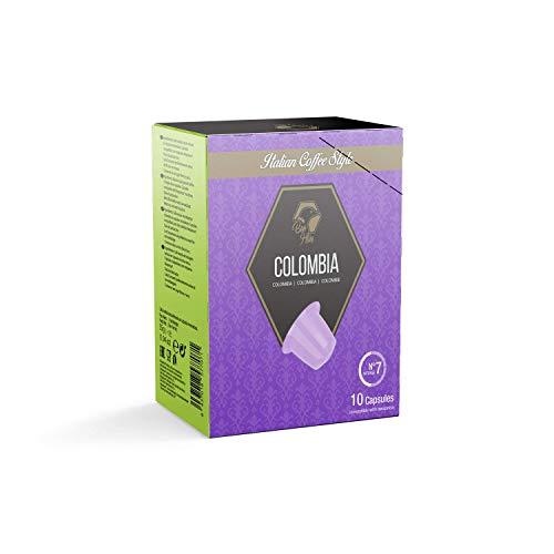 Beo Hive | Cápsulas Café | Colombia Cápsulas Compostables | 150 Cápsulas Nespresso | Intensidad 7 | Aromático y de Intenso Sabor | Compatible Con Máquina Nespresso | Espresso Cápsulas